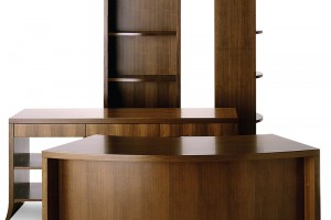 Walnut cabinetry Louise Series Durante Furniture