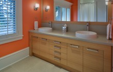 Durante Furniture Master Bath Cabinetry